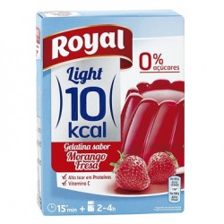 Gelatina Royal Light Fragola